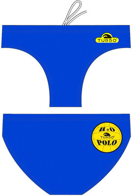 *gratis mini-polobal* showmodel Turbo Waterpolobroek Basic Royal FR90 | D6 | XL