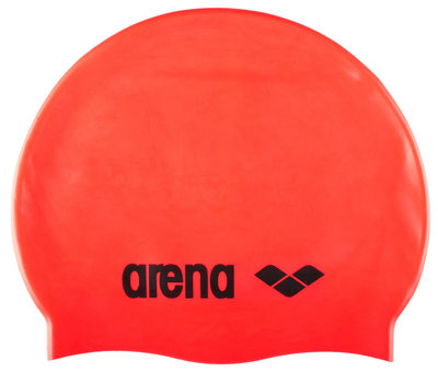 Arena Classic Silicone fluo-red/black