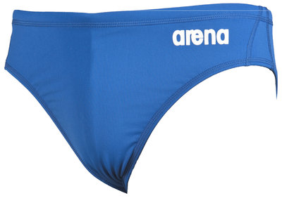 Arena M Solid Waterpolo Brief royal/white 65