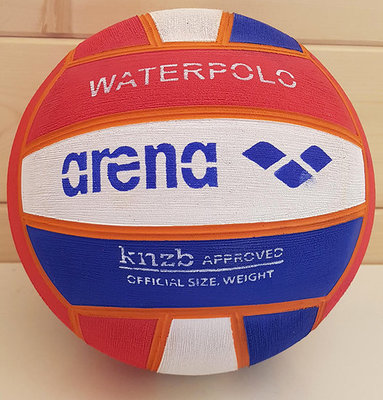 Arena waterpolo bal maat 5 KNZB