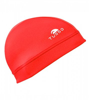 Turbo Swimming cap Lycra Cap red