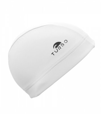 Turbo Swimming cap Lycra Cap white
