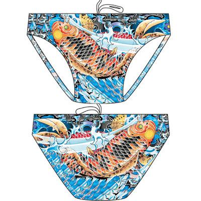 Men Waterpolo Swimsuit Waterfly Carpa 85