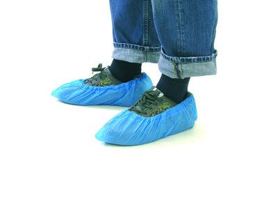 "Epsan overschoenen ""disposable"", PE 15x41 cm, 50 paar"