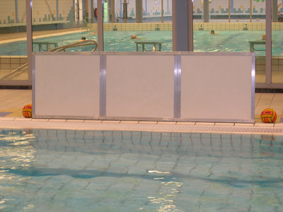 Epsan waterpolo shootingboard, 300 cm, per stuk