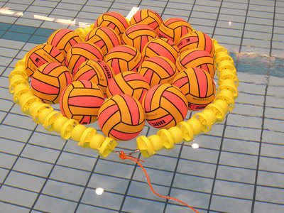 Epsan waterpolo drijvend bal ring