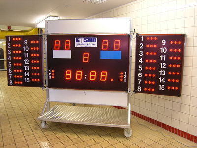Epsan waterpolo score board trolley