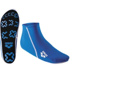 Arena Pool Socks Jr blue 28/31