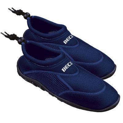 BECO Neopreen surf- en zwemschoen, donker blauw, maat 43
