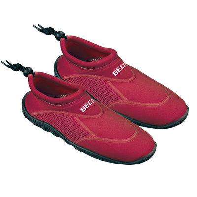 BECO Neopreen surf- en zwemschoen, rood, maat 46