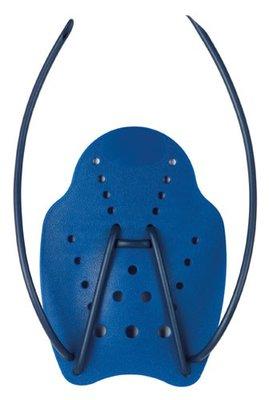 BECO Handpaddles, ergonomisch, maat M, blauw