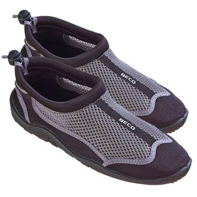 BECO Neopreen schoen beachwalker, grijs/zwart, maat 46