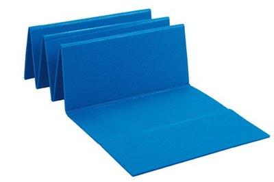 BECO Pe-foam mat, glad oppervlak, 180x51x0,8 cm, blauw