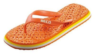 BECO Eva slipper, oranje, maat 42