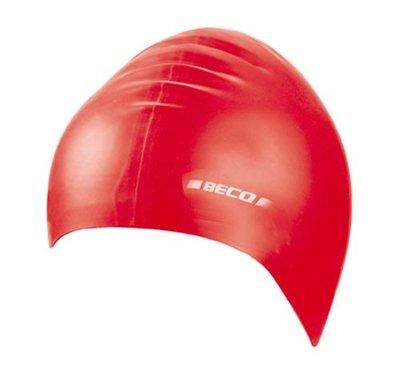 BECO Silicone kinder badmuts, rood