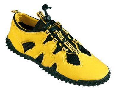 BECO Neopreen surf- en zwemschoen, geel, maat 46