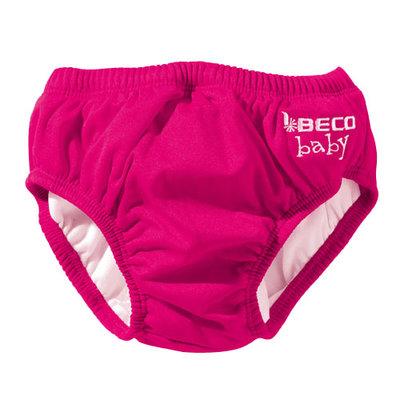 BECO Baby zwemluier, slip-vorm, roze, maat XXS