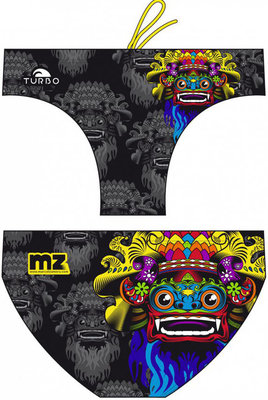 Exclusive TURBO WATERPOLO MEN SUITS BALI MASK BLACK 100