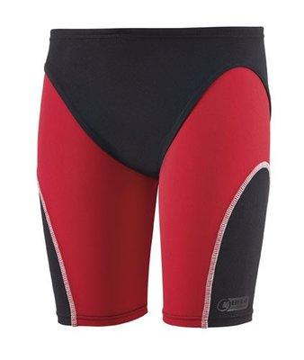 Beco Competition jongens zwembroek/jammer, zwart/rood kindermaat 164