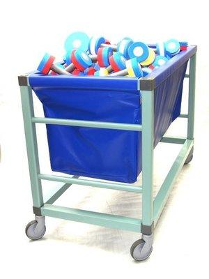 Epsan storage trolley ideal voor aqua-belts & -dumbbells