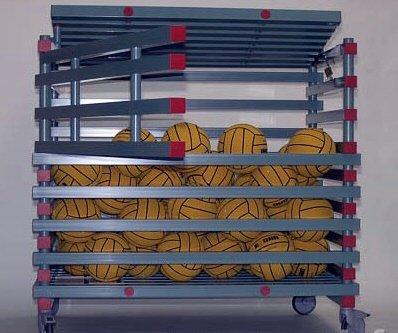 Epsan materiaal- & ballenwagen ideal alphen voor tot 60 ballen