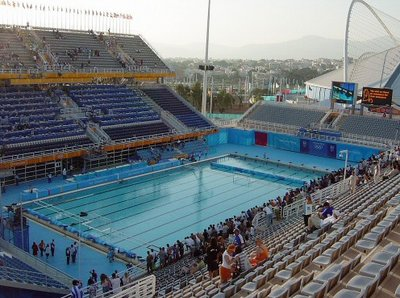 "Epsan water polo veld MWS, 6""/150 mm, 25 m pool, 25x20"