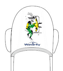 *SALE* Keeper Waterfly Waterpolo Cap Smit B.V. Thuis 1