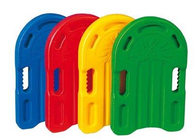 BECO Zwemplankje Standard, plastic hd-pe, 43x26x4 cm, assortimentskleuren