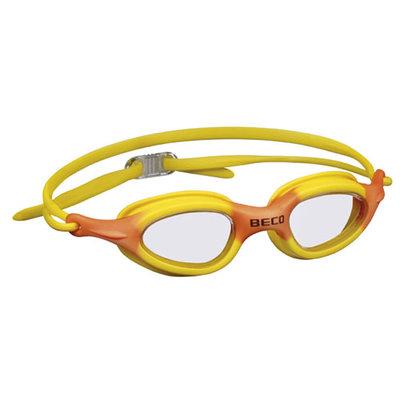 BECO Kinder en jeugd zwembril Biarritz, geel/oranje