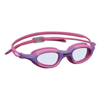 BECO Kinder en jeugd zwembril Biarritz, roze/paars