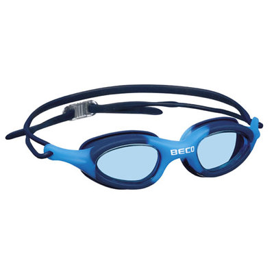 BECO Kinder en jeugd zwembril Biarritz, donker blauw/blauw