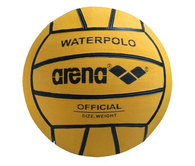 Arena Water Polo Ball Junior yellow/black