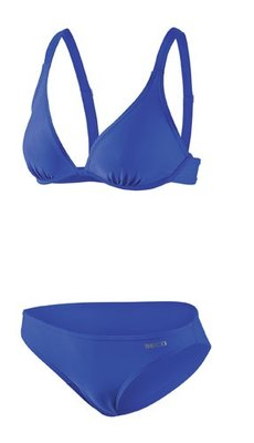 Beco wire-bra bikini, B-cup, blauw FR38-D36-M