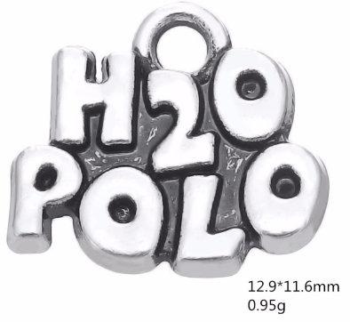 H2O Polo hanger Antique Silver Plated
