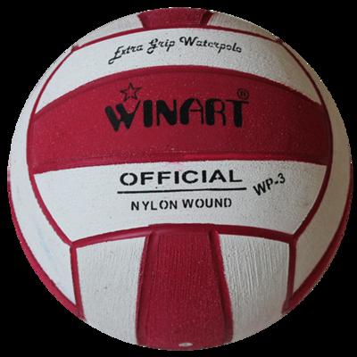 Voordeelbundel 10x Winart waterpolobal mini-polo maat 3 lime-zwart