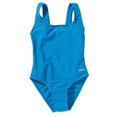 Beco meisjes badpak, turquoise kindermaat 98