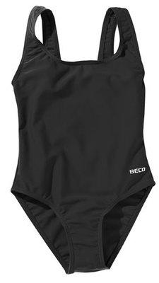 Beco meisjes badpak, zwart kindermaat 98