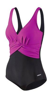 Beco badpak, D-cup, zwart/roze FR40-D38-L