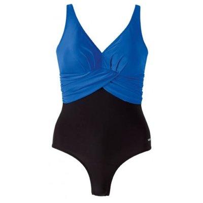 Beco badpak, D-cup, zwart/blauw FR40-D38-L