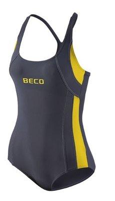 Beco badpak grijs/geel FR48-D46-4XL