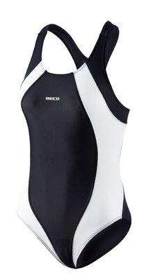 Beco badpak zwart/wit FR44-D42-2XL