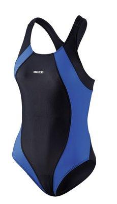 Beco badpak zwart/blauw FR42-D40-XL