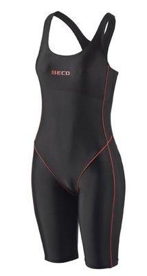 Beco badpak met pijpjes, zwart/rood FR46-D44-3XL