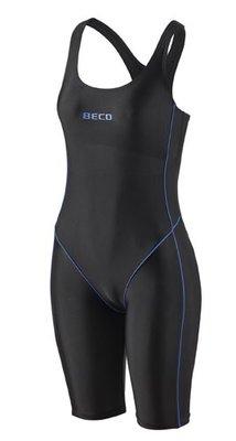 Beco badpak met pijpjes, zwart/blauw FR46-D44-3XL