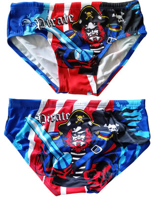 Exclusive Turbo waterpolobroek Pirate: kindermaat 116