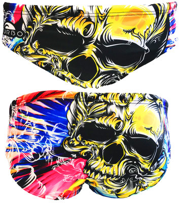 Exclusive Turbo waterpolobroek Skull Color FR90 | D6 | XL
