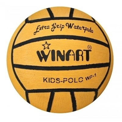 *Populair* Winart mini Waterpolobal kids maat 1 geel