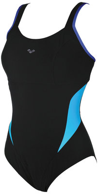Arena W Makimurax Low C Cup black-bright-blue-turquoise 46
