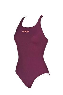 Arena W Solid Swim Pro red-wine-shiny-pink 38