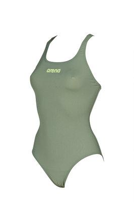 Arena W Solid Swim Pro army-shiny-green 38